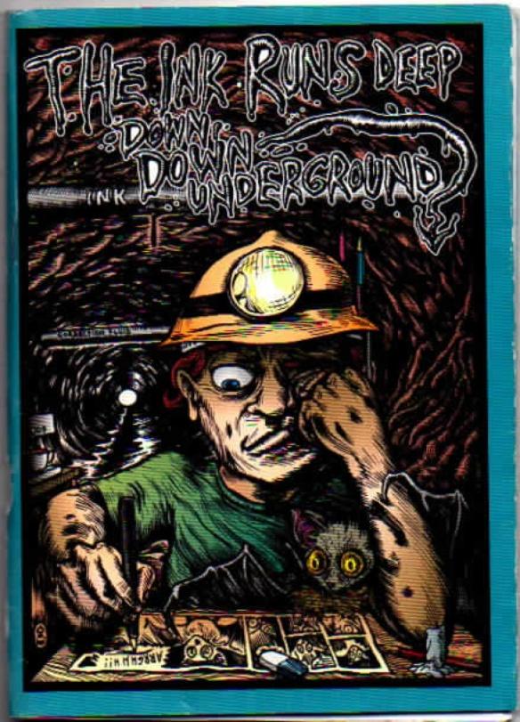 The Ink Runs Deep...exhibition catalogue. (Design by Glenn Smith)