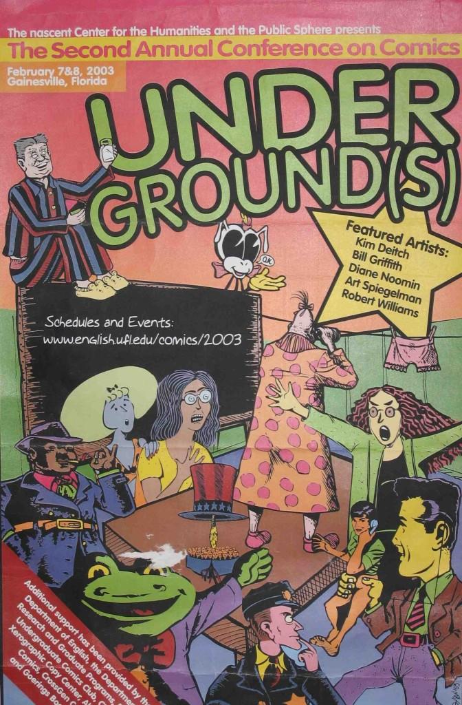 Underground(s) poster (detail).