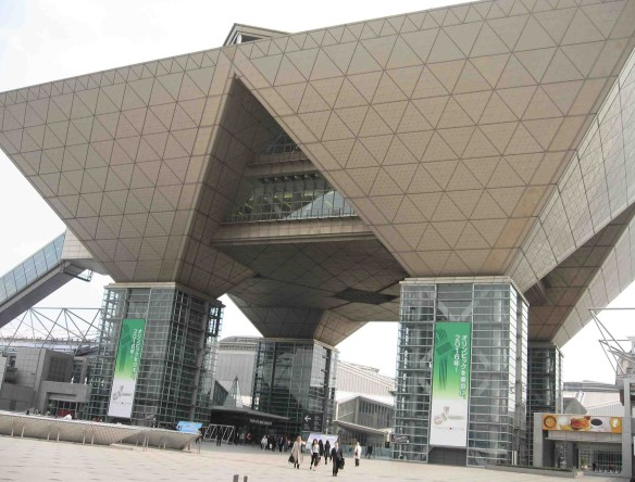 Tokyo Big Sight-entrance. (Photo by Michael Hill)