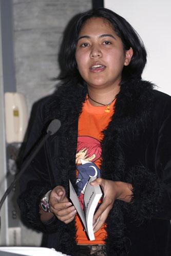 Komala Singh talking about Moshi Moshi.