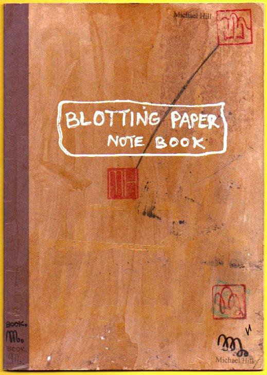 The main note book used on the project wherein details of the character, environment and story were developed.