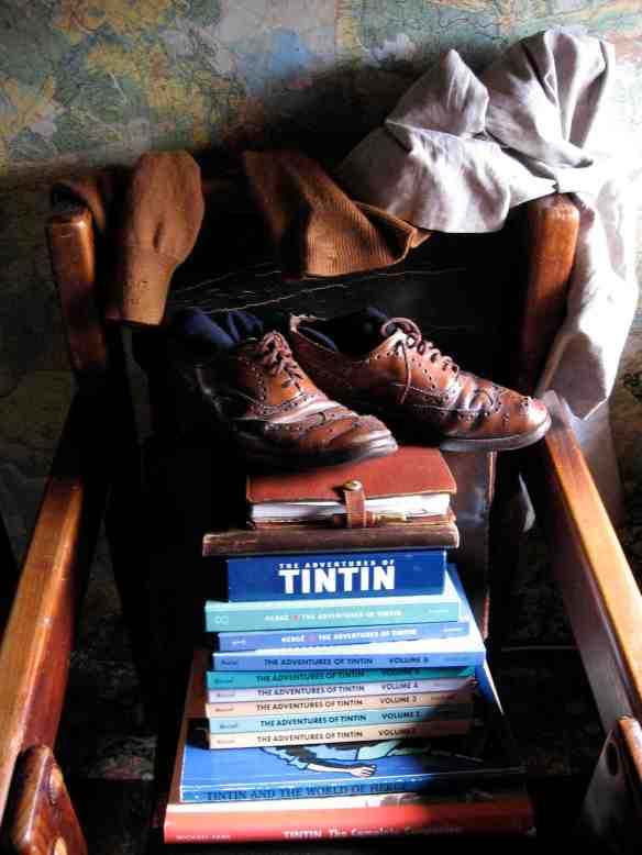 Tintin stuff (Art direction and photography-© 2013 Louise Graber)