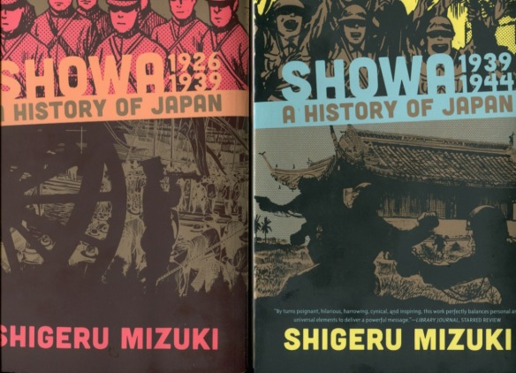 Japanese history gets the Mizuki mix of cartoons and realism-Vols.1 & 2