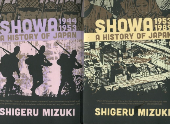 Japanese history gets the Mizuki mix of cartoons and realism-Vols.3 & 4