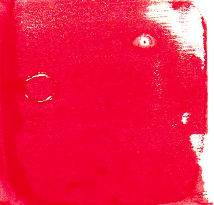 Red face print #1–© 2013 Michael Hill