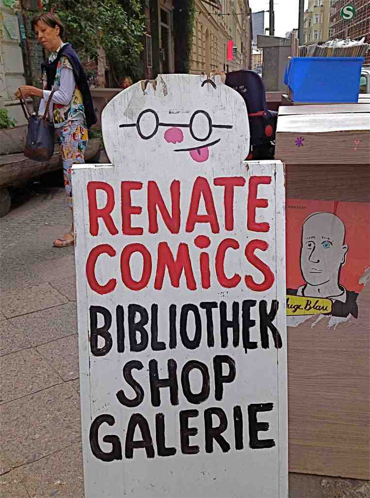 Renate Comics Shop. (Photo-© 2014 Louise Graber)