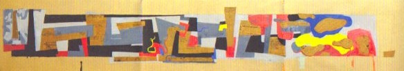 Stalingrad (Sieg im Osten) scroll painting by Hans Richter.
