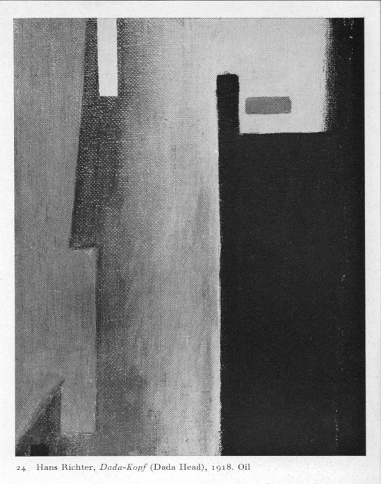 Dada-Kopf (Dada Head) by Hans Richter.