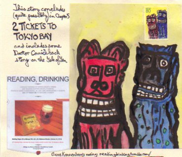 Teaser for 2 TICKETS TO TOKYO BAY the forthcoming Chapter 5-© 2015 Michael Hill, READING DRINKING -© 2014 Gene Kannenberg, Jr.