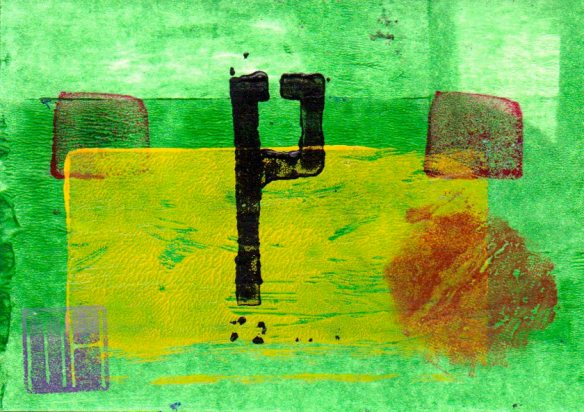 A postcard from my Abstract No.4 series-© 2006 Michael Hill