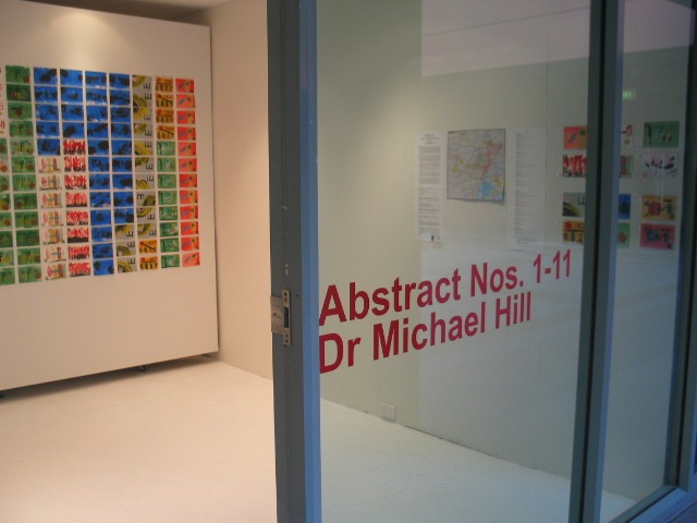 Pop-Up Postcard Exhibition: Abstract Nos.1-11, DAB LAB Gallery, UTS, 2007