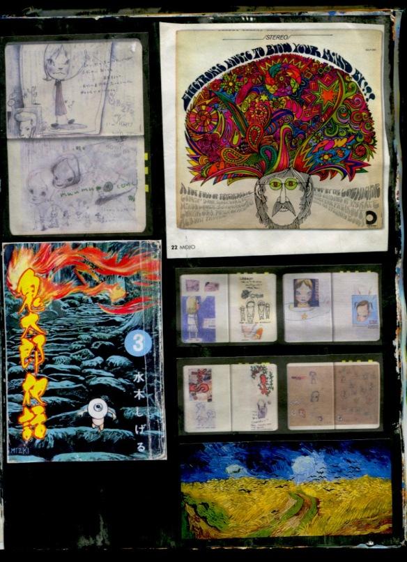 Mixed Bag, from Nara to Van Gogh.